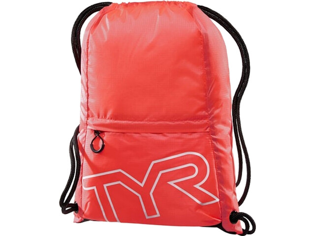TYR Draw String Backpack, red